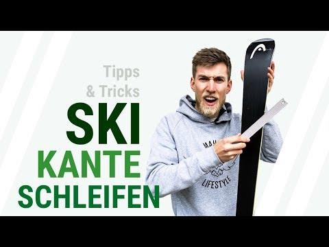 SKI KANTE SCHLEIFEN Tutorial -  Wie schleifst du die Kante deiner Ski? Tipps und Tricks // 1/2