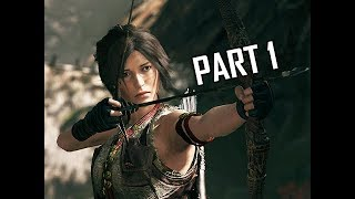 Shadow of the Tomb Raider Walkthrough Part 1 - First 3 Hours!!! (Let's Play Gameplay Commentary)