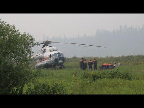 Μαίνονται οι πυρκαγιές στη Σιβηρία