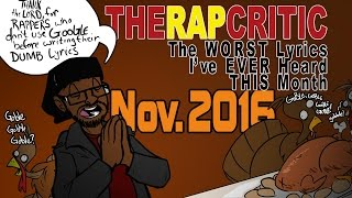 Worst Lyrics of November 2016 (Big KRIT/Tech N9ne/Craig Mack/Cassidy/Khia)