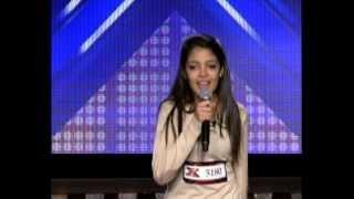 تجارب الأداء سلوى أنلوف أصغر متسابقة - The X Factor 2013