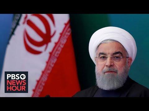 News Wrap: Trump appears to downplay chance of U.S. strike on Iran