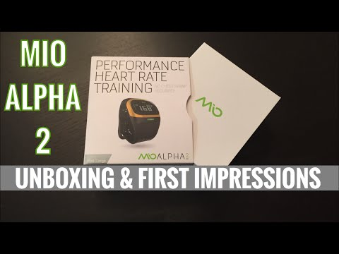 MIO ALPHA 2 - Unboxing & First Impressions
