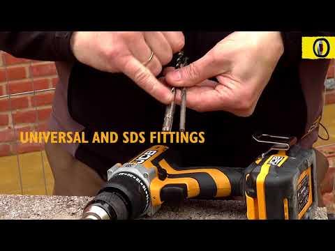 JCB Masonry Drill Bit Set