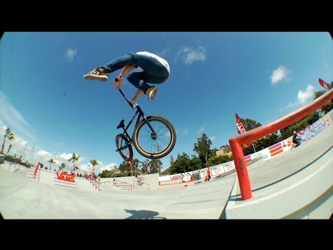 VANS SKATEPARK FIRST BMX STREET PLAZA SESSION