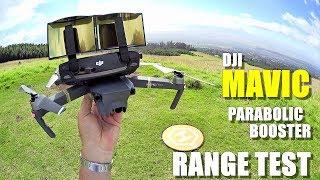 DJI MAVIC PRO Review - Part 4 - [6.4 Mile In-Depth Parabolic Range Booster Test 😮