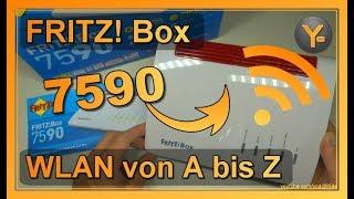 AVM FRITZ! Box 7590: WLAN von A bis Z