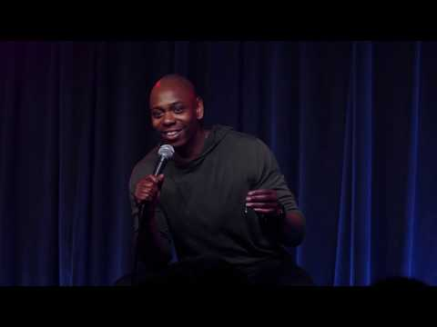 A Dave Chapelle standup, but it's just him smacking the microphone on things.