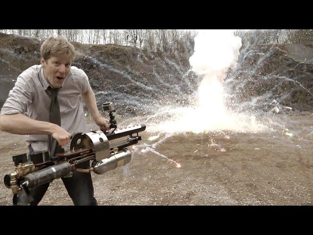 Британский изобретатель разработал термитную пушку