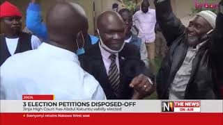 3 election petitions disposed off
