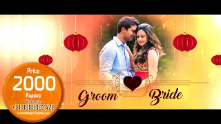 Cinematic wedding invitation video save the date video vr visual indian wedding invitation video best wedding invitation makers in south north india project stopboris Images