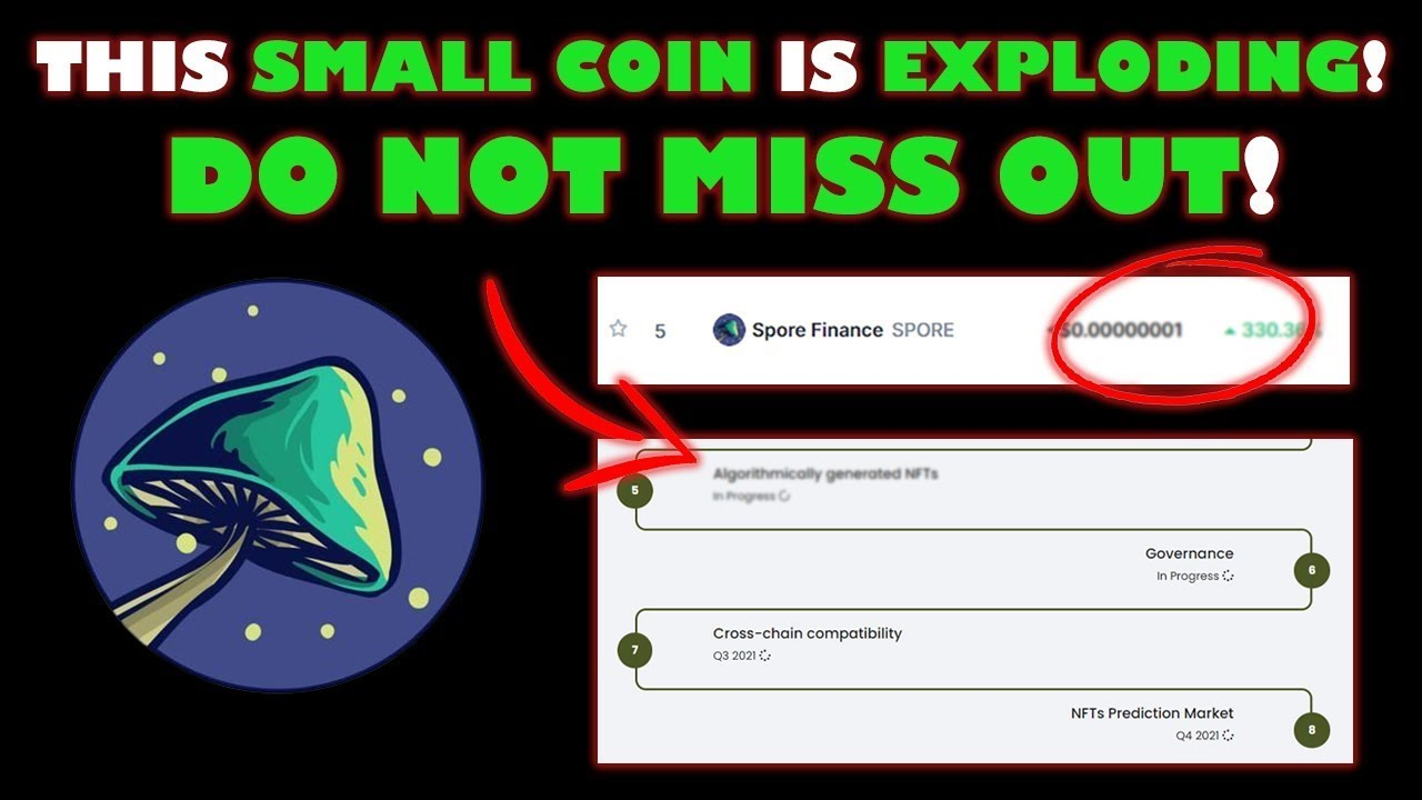 Spore Finance: Another 100x Coin? Honest Research and Review on Spore Earth Crypto Coin! thumbnail