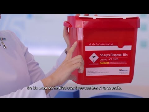 Sharps Disposal Bin - Thai Plastics Innovation for Medical Safety Needs
