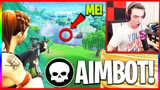I Got Eliminated By an Aimbot Hacker in Fortnite! (EVIDENCE)