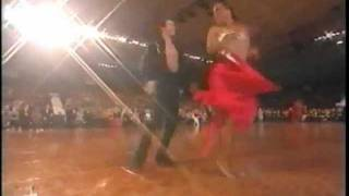 International Latin Finals, Championship Ballroom Dancing 1999-2000