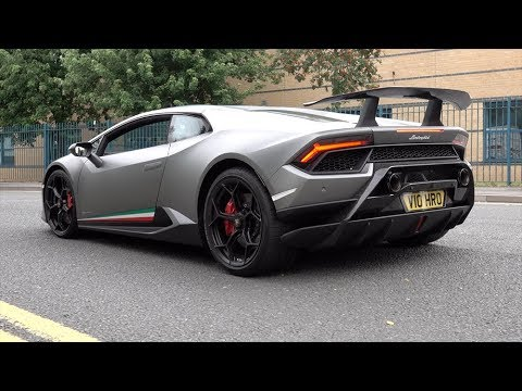 Lamborghini Huracan Performante Spotted In The Wild V10 Sounds