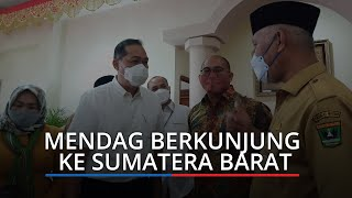 Tiba di Sumbar Menteri Perdagangan akan Datangi Pasar Bawah Bukittinggi, 3 Agenda di Ranah Minang