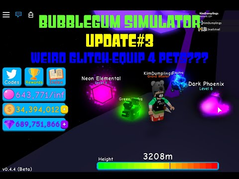 How to equip more than 3 or 6 pets in Bubble Gum Simulator