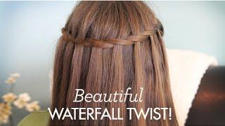 Beautiful Waterfall Twist   Cute Girls Hairstyles