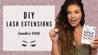 $10 DIY LASH EXTENSIONS!  Ardell LashTite Review 