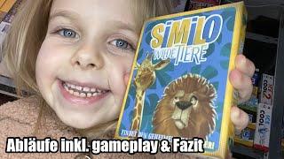 Similo Wilde Tiere (Horrible Guild / Heidelbär Games) - ab 7 Jahre - ein kooperatives Familienspiel