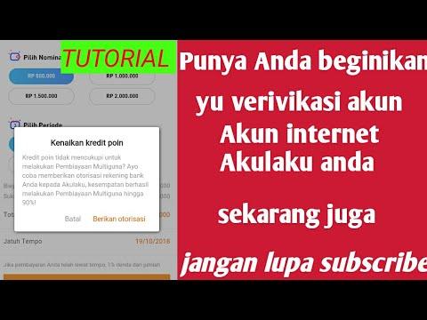 CARA MEMVERIFIKASI INTERNET BANKING DI AKULAKU