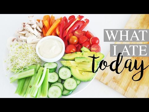 WHAT I ATE TODAY - Easy Healthy Recipe Ideas