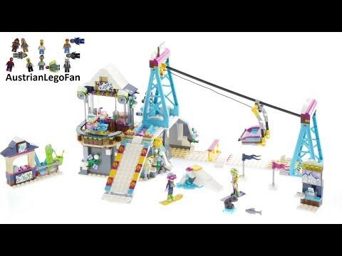 Vidéo LEGO Friends 41324 : La station de ski