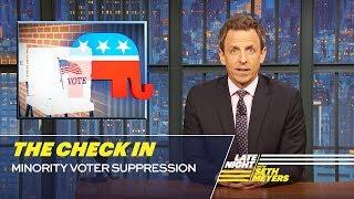 The Check In: Minority Voter Suppression