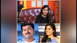 Actress about thalapathy vijay part 3