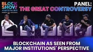 The Great Controversy: Blockchain as Seen From Major Institutions