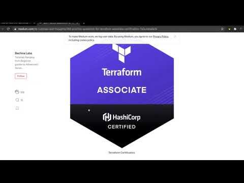 How to Pass the Hashicorp Terraform Associate Exam #terraform ...