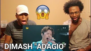 DIMASH - ADAGIO (REACTION)