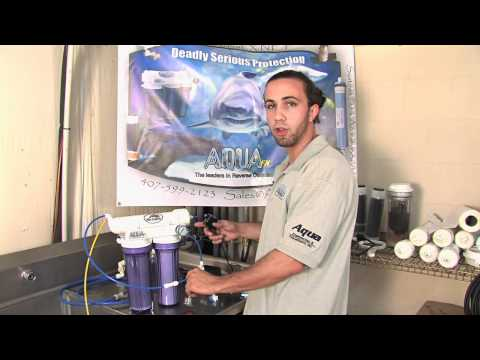 RO Booster Pump and Membrane Flush Kit Installation - AquaFX