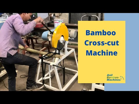 Bamboo Crosscut Machine