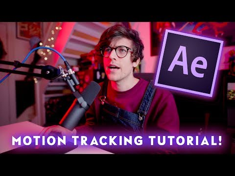 Motion Tracking in After Effects CC Tutorial – Quick & Easy! GIL HARMON TECH TUTORIALS