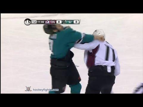 Brad Stuart vs. Jamie McGinn