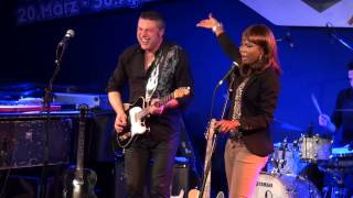 Morblus & Justina Lee Brown, Ain't No Sunshine, Vienna Blues Spring Reigen 2013