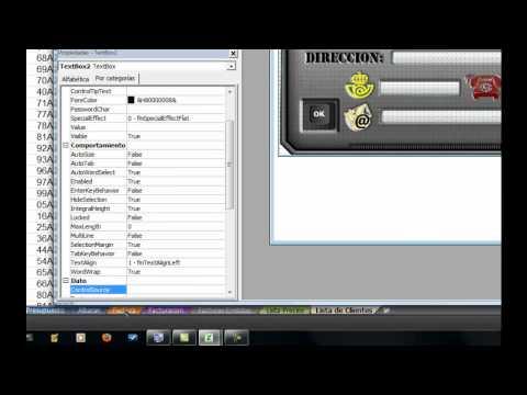 Programación en Excel Cómo hacer un formulario de diseño avanzado