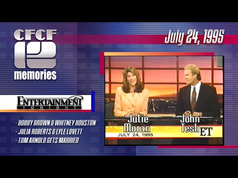 1995-07-24 - Entertainment Tonight (ET) with John Tesh & Julie Moran