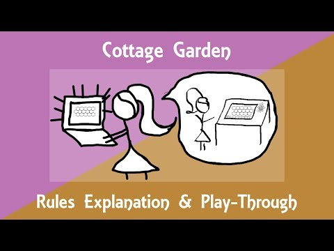 Cottage Garden Rules Explanation & Play-Through