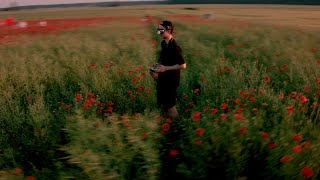 FPV CINEMATIC SERIES. Poppy flowers field. BLACKMAGIC CINELIFTER / Полет над маковым полем.