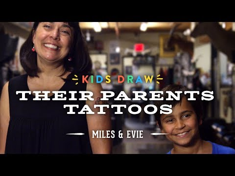 Miles Designs His Mom's First Tattoo