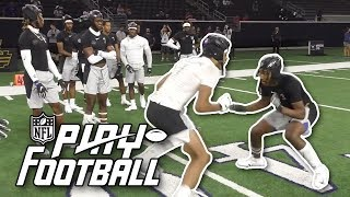 Top D1 Commits Battle in Wide Receiver vs. Defensive Back 1-On-1