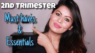 2nd Trimester Must Haves & Essentials   Pregnancy life   Kavya K