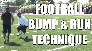 The Bump and Run Technique with T.J. Ward