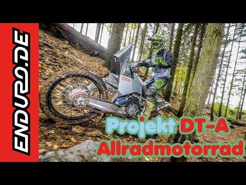 Projekt DT-A Allradmotorrad im Test