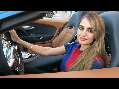 Ngắm gái xinh lái Bugatti ở Dubai