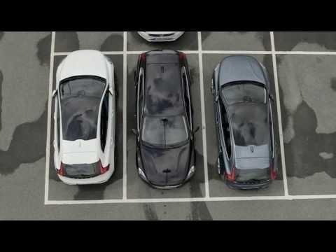 Volvo V40 automatic parking demo