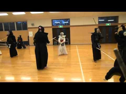 Kendo Ji-Geiko (Free Sparing) - Inagawa 2013
